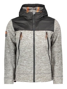Superdry Jas M20101MT SILVER GREY MARL