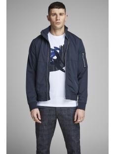 jprcaster bomber jacket 12148132 jack & jones jas navy blazer