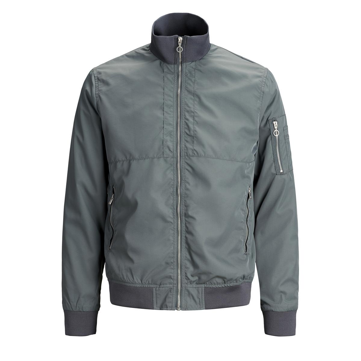jprcaster bomber jacket 12148132 jack & jones jas dark slate