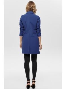 onljessica bonded spring coat otw 15169736 only jas navy peony