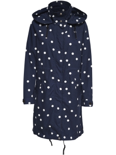 Only Jas onlJESSICA LONG SPRING PARKA CC OTW 15167802 Night Sky/DOTS
