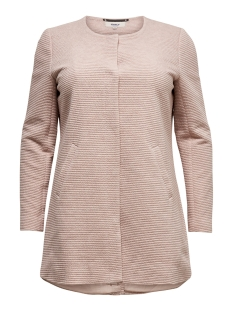 Only Carmakoma Jas carTORONTO SPRING COAT 15173127 Rose Smoke/MELANGE