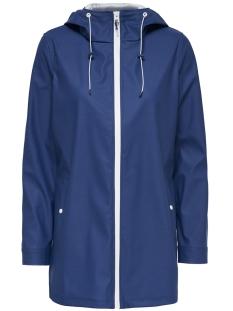 onlwindy raincoat cc otw 15167900 only jas navy peony
