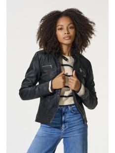 onlbandit faux leather biker otw noos 15081400 only jas black