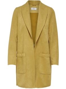 onljosephine faux suede coat otw 15158685 only jas golden glow