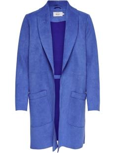 Only Jas onlJOSEPHINE FAUX SUEDE COAT OTW 15158685 Dazzling Blue