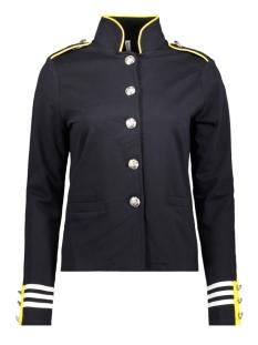 sr1915 military jacket zoso vest navy/yellow