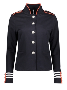 Zoso Blazer SR1915 MILITARY JACKET NAVY/ORANGE RED