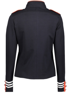 sr1915 military jacket zoso vest navy/orange red