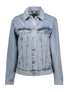 Vero Moda Jas VMKATRINA LS DENIM LOOSE  JACKET BO 10208812 Light Blue Denim