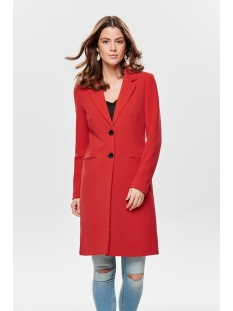 onlcheryl spring coat cc otw 15169089 only jas high risk red