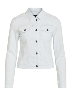 Object Jas OBJWIN NEW  DENIM JACKET SEASONAL 23029343 White