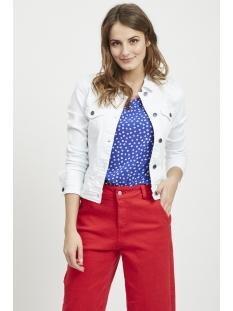 objwin new  denim jacket seasonal 23029343 object jas white