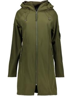 sr1927 softshell hooded coat zoso jas army