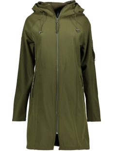 Zoso Jas SR1927 SOFTSHELL HOODED COAT ARMY