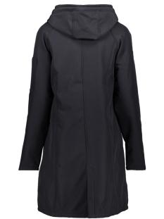sr1927  softshell hooded coat zoso jas navy
