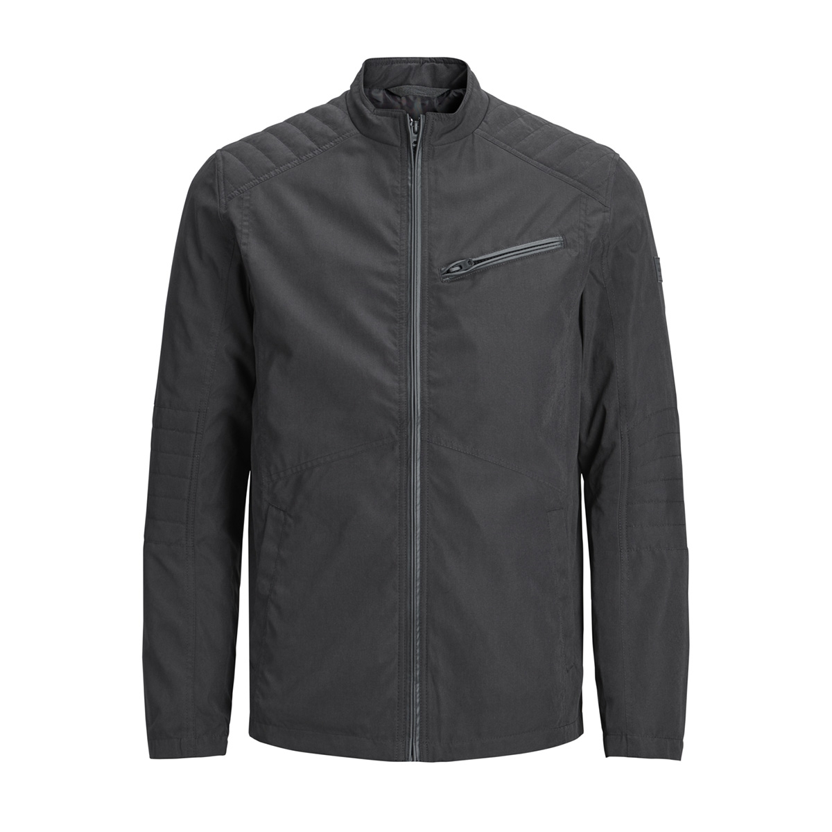 jcolander biker jacket 12147220 jack & jones jas black