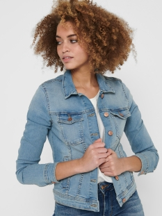 Only Jas ONLTIA DNM JACKET BB LB BEX179 NOOS 15177241 Light Blue Denim