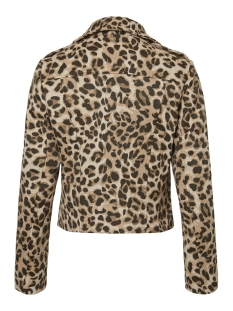pcsada biker jacket 17095799 pieces jas black/jaquard an
