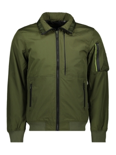 Superdry Jas MOODY LIGHT BOMBER M50013WT FIELD KHAKI