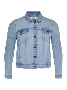 Only Carmakoma Jas CARLOCK DNM JACKET 15177134 Light Blue Denim