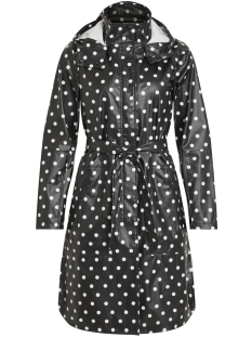 Object Jas OBJBIEL RAINCOAT PB5 23028377 Black/AOP