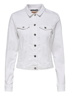 Only Jas ONLTIA DNM JACKET BB COL BEX168A NO 15177238 White