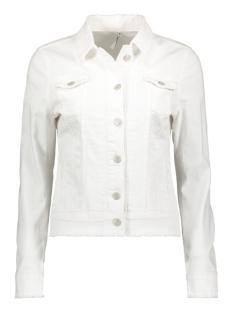 fleur non denim jacket 192 zoso jas white