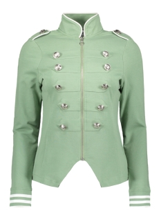 Zoso Vest SONIA MILITARY LOOK JACKET 192 SAGE/WHITE