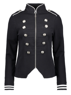 Zoso Vest SONIA MILITARY LOOK JACKET 192 NAVY/WHITE