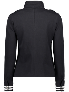 sonia military look jacket 192 zoso vest navy/white