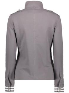 sonia military look jacket 192 zoso vest grey/white