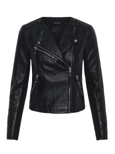VMRIA FAV SHORT FAUX LEATHER JACKET 10211420 Black
