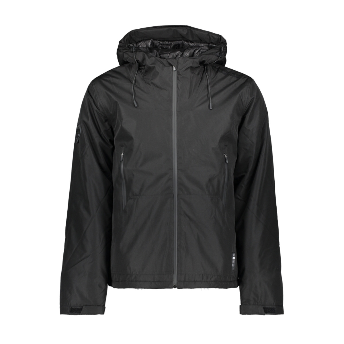 padded elite jacket m5000070a superdry jas jet black