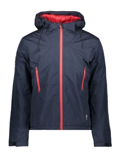 Superdry Jas PADDED ELITE JACKET M5000070A NAUTICAL NAVY