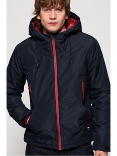 padded elite jacket m5000070a superdry jas nautical navy