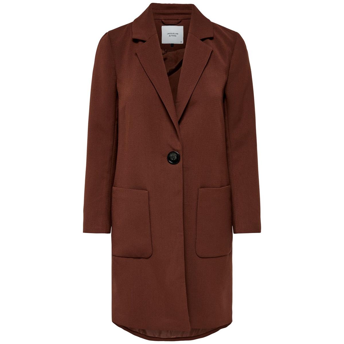 jdykaya brighton long jacket otw ha 15180179 jacqueline de yong jas smoked paprika