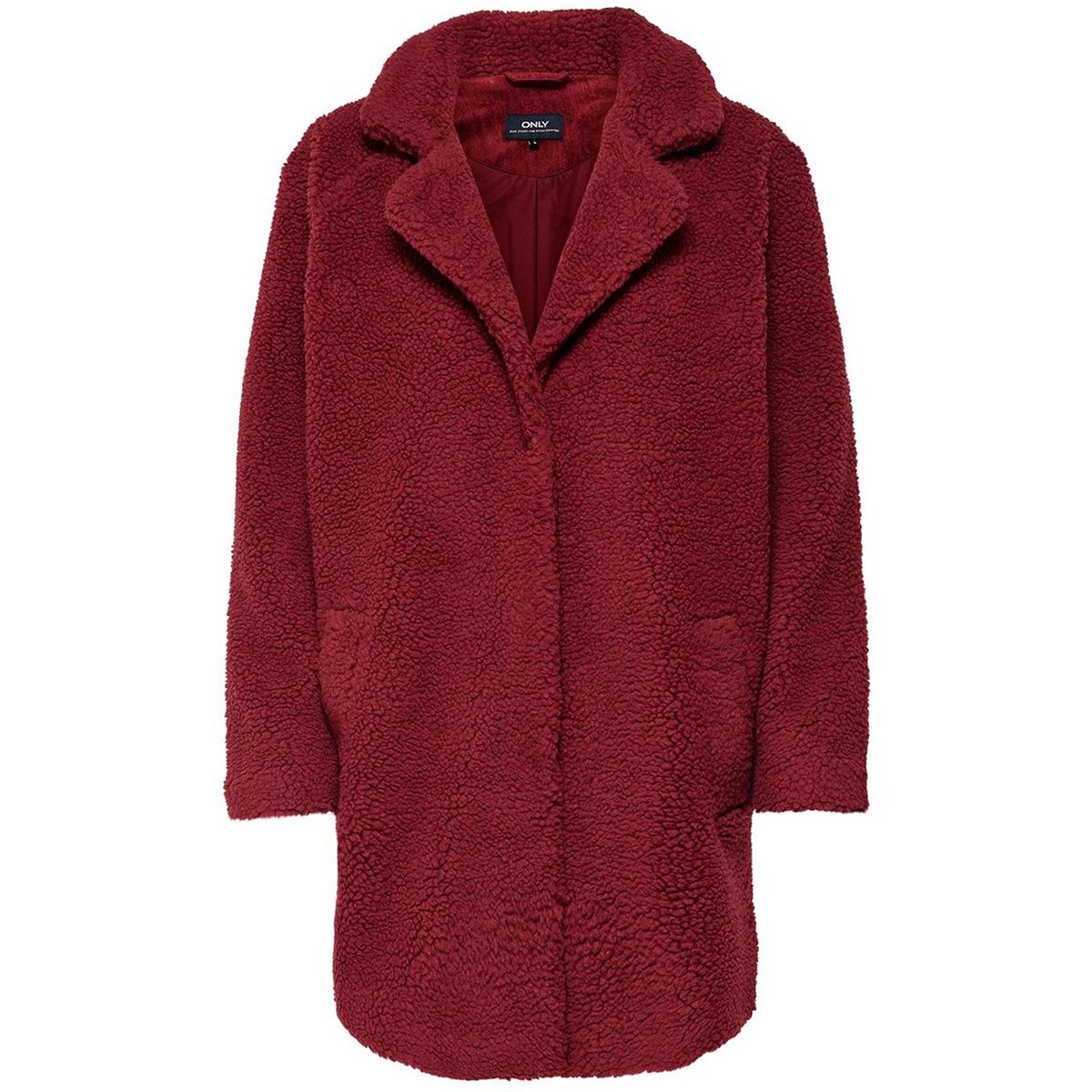onlaurelia sherpa coat cc otw 15180347 only jas merlot
