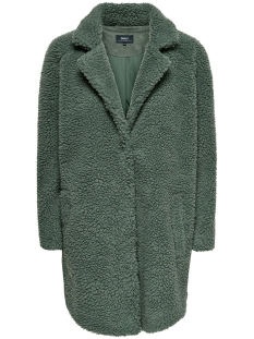 Only Jas ONLAURELIA SHERPA COAT CC OTW 15180347 Balsam Green