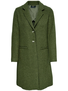 onlnew ella wool coat cc otw 15139120 only jas martini olive/melange