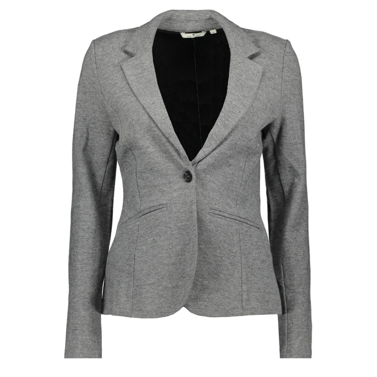 gemeleerde blazer 1013242xx70 tom tailor blazer 13455