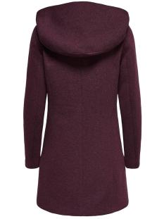 onlsedona light coat otw noos 15142911 only jas chocolate truffle/melange