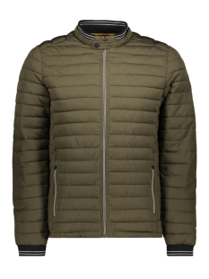 short fit jacket 92630702 no-excess jas 059 dk army