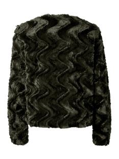 vmcurl short faux fur jacket col 10202512 vero moda jas peat