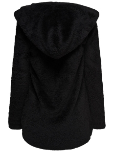 onlnewcontact hooded sherpa coat otw 15161142 only vest black