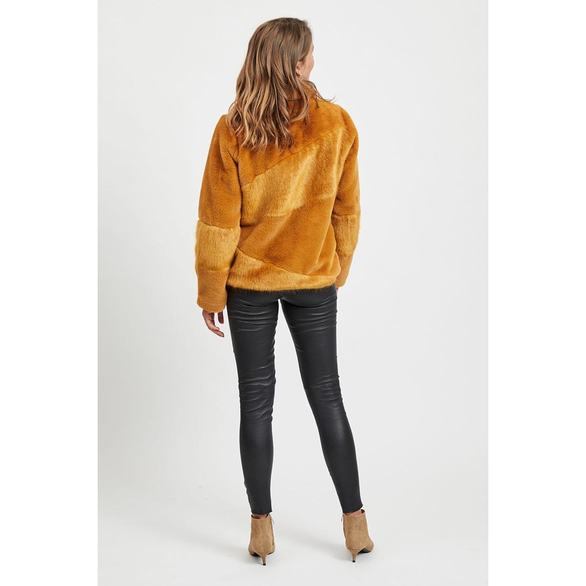 objaura jacket 104 23030002 object jas buckthorn brown