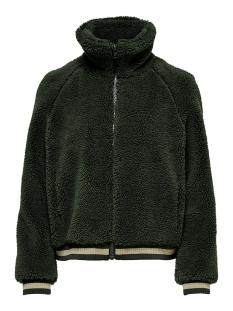 onlemily teddy bomber jacket otw 15182279 only jas forest night