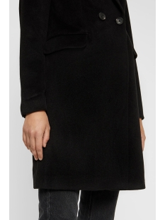 vmnoramille 3/4 wool jacket 10216935 vero moda jas black