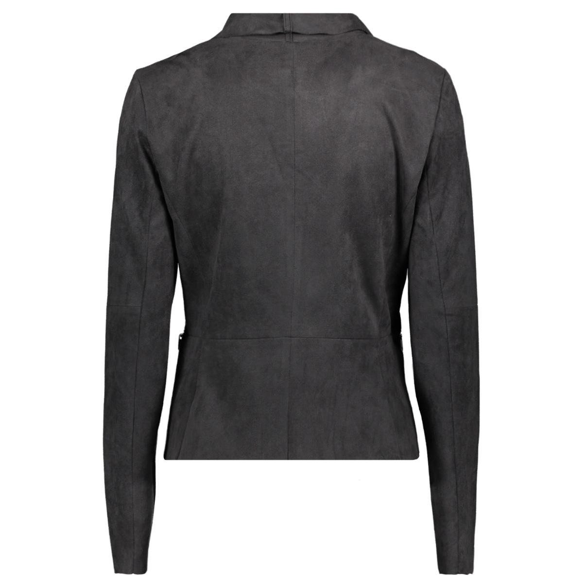 biker jas met suede look 25001523 sandwich blazer 80025