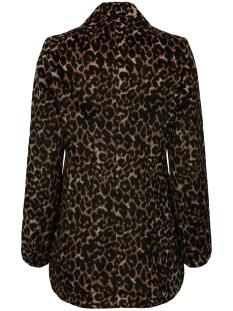 vmcocoleopard jacket 10217336 vero moda jas tobacco brown/leo